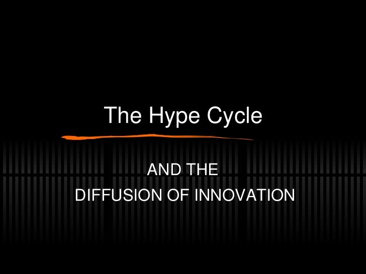 The Hype Cycle AND THE  DIFFUSION OF INNOVATION
