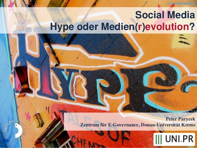 Peter ParycekZentrum für E-Governance, Donau-Universität KremsSocial MediaHype oder Medien(r)evolution?CC by Alex Cameron