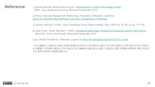 "Reference 18 1 Double Diamond. British Design Council. ""Eleven lessons. A study of the design process"" (PDF). www.designco..."
