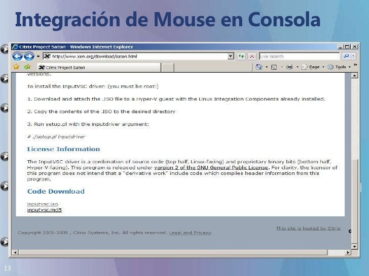 Integración de Mouse en Consola<br />El mouse funcionara bien pero no dejara el contexto en forma automática.<br />Se debe...