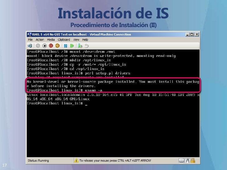 Instalación de IS Procedimiento de Instalación (II)<br />
