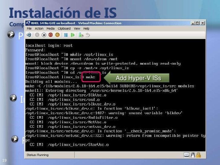 Instalación de IS Compilar e Instalar en Distribuciones SOPORTADAS<br />Preparación Montar ISO y Copiar<br />mount /dev/cd...