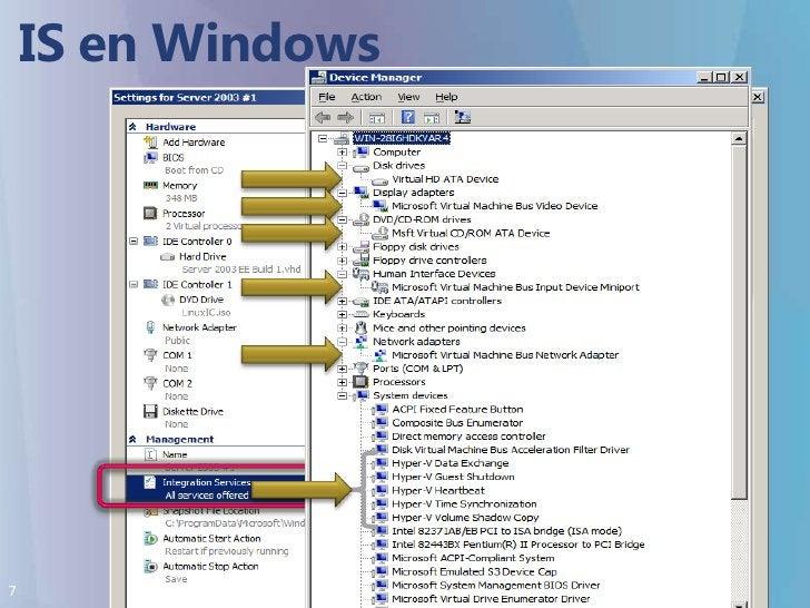 IS en Windows<br />