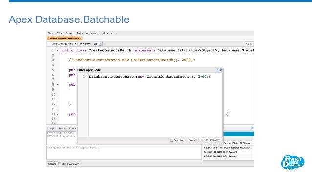 Apex Database.Batchable