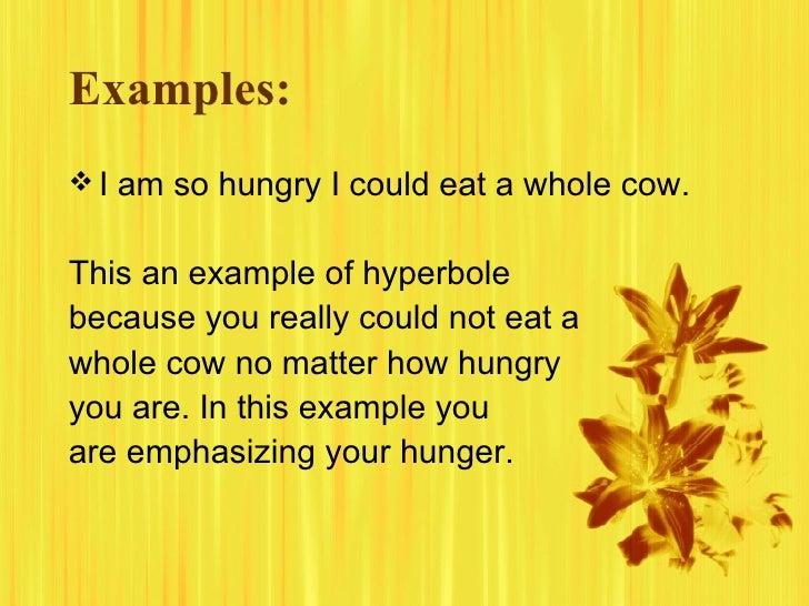 Hyperbole Examples Roho4senses