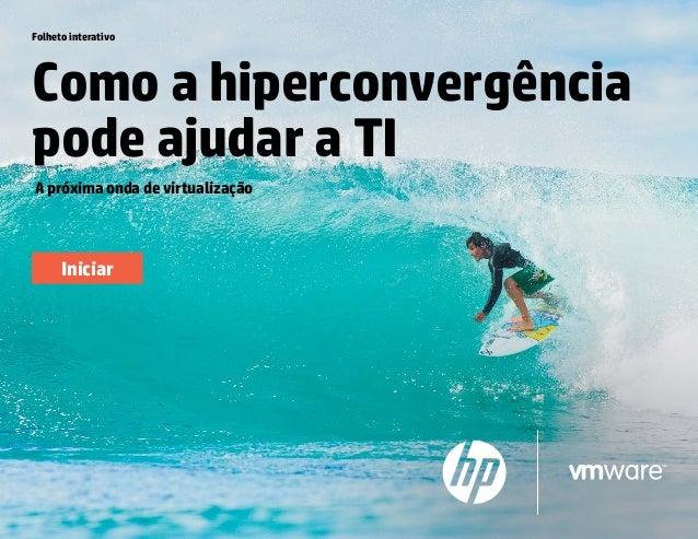 Folheto Como a hiperconvergência pode ajudar a TI A próxima onda de virtualização Folheto interativo Iniciar