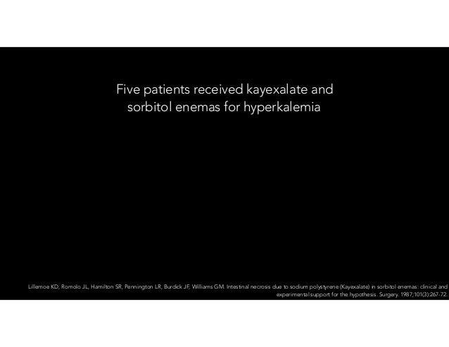 Hyperkalemia, an update