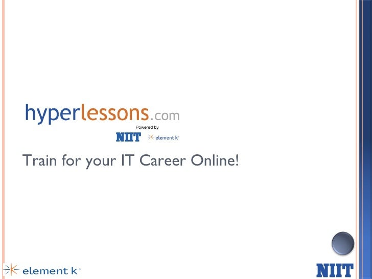 HyperLessons - Train for Microsoft, Sun, Cisco Certifications online