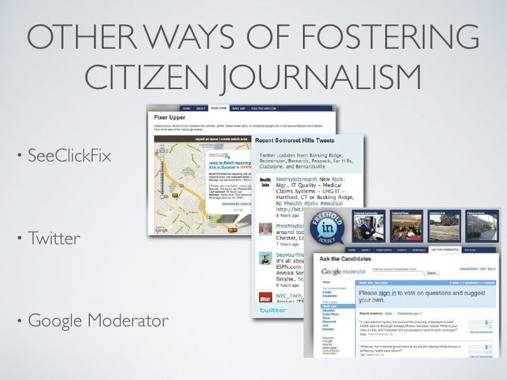 """""""Doing journalism in 2010 is an  act of community organizing""""         —Robert Niles, The Online Journalims Review"""