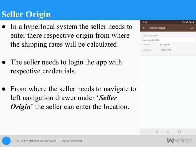 Hyperlocal Mobile App for Magento 2