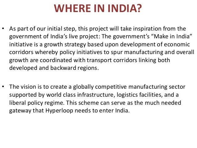 india's approach to hyperloop