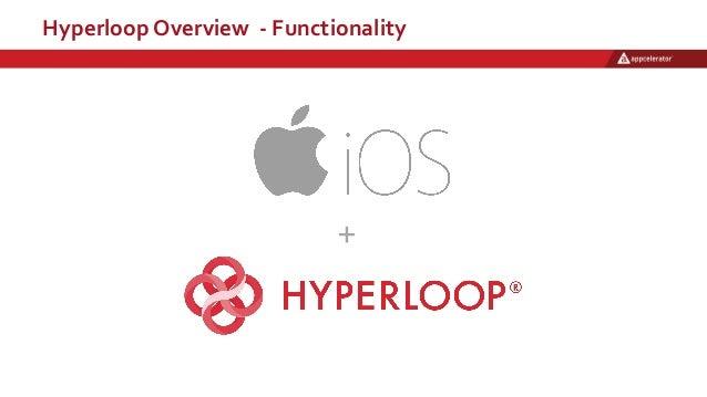 Hyperloop Overview - Functionality +