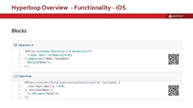 Hyperloop Overview - Functionality - iOS Blocks