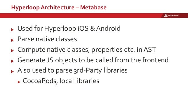 Appcelerator Hyperloop: Overview, Architecture & Demo