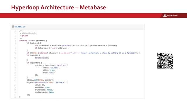 Hyperloop Architecture – Metabase