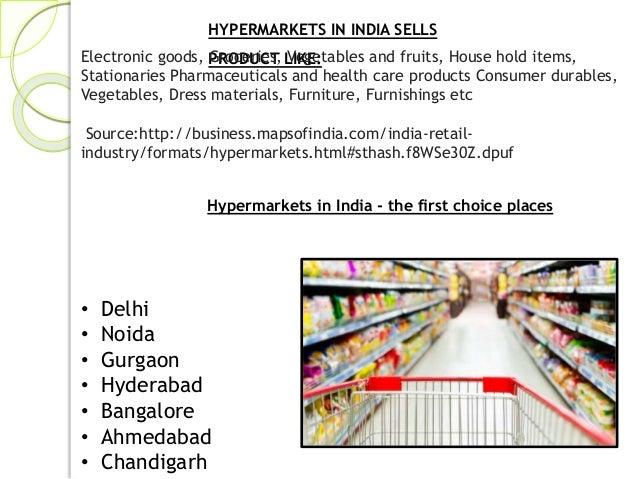 Hypermarket.