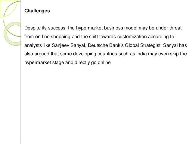 India hypermarkets growth | india hypermarkets revenue | india.