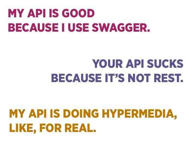 Hypermedia APIs that make sense Slide 3