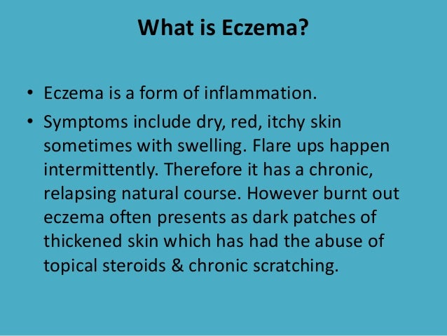 Hyperpigmentation post eczema