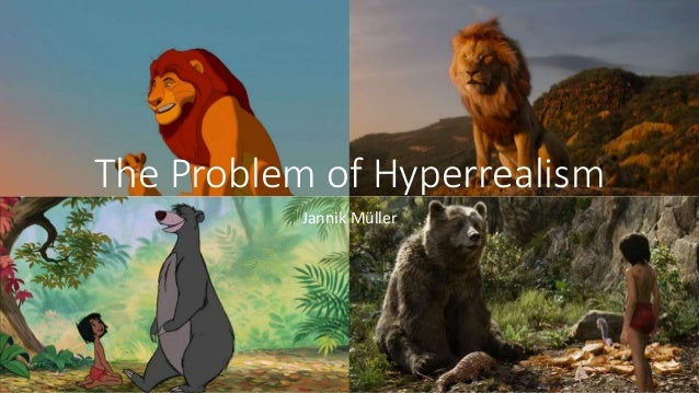 The Problem of Hyperrealism Jannik M�ller