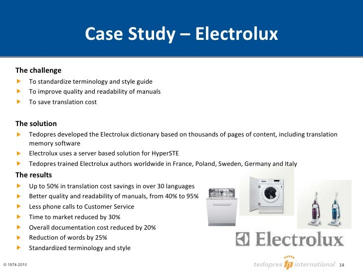 core competencies in the case electrolux swedish Core competencies in the case electrolux swedish case electrolux acquisitions how has electrolux's strategy changed over time how have these changes affected its direct investment activities.