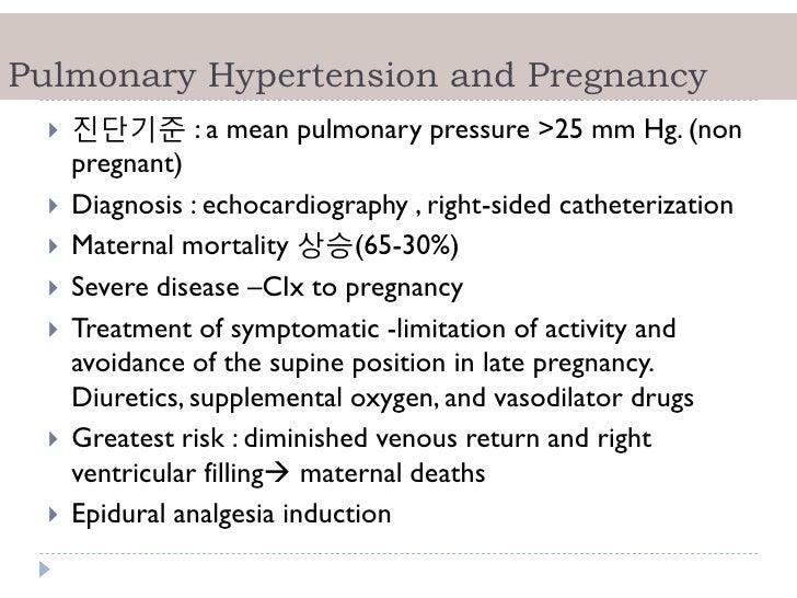 Hypertension in pregnancy