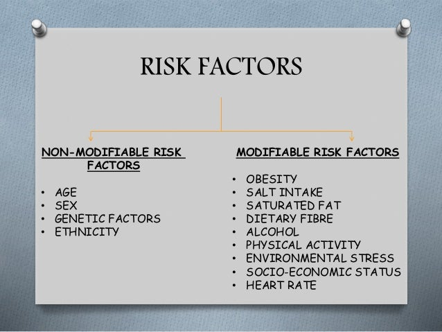 modifiable and non modifiable risk factors of coronary artery disease