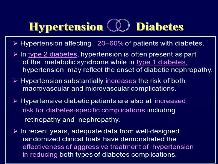 hypertension  u0026 diabetes