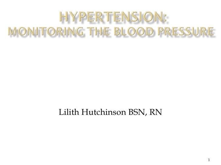 Lilith Hutchinson BSN, RN