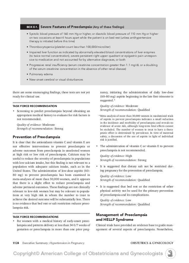 hypertension in pregnancy acog 2013 rh slideshare net ACOG Prenatals ACOG Standards