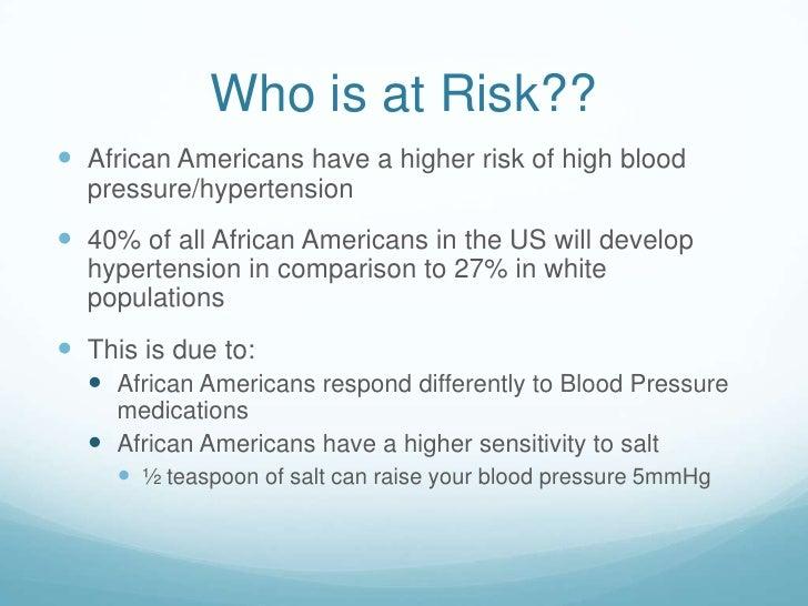 Startling cool ideas: hypertension presentation presents blood.