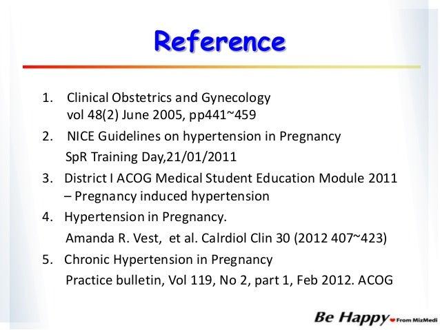 Labetalol And Late Pregnancy