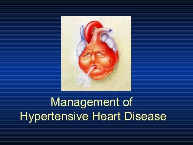 Management of Hypertensive Heart Disease