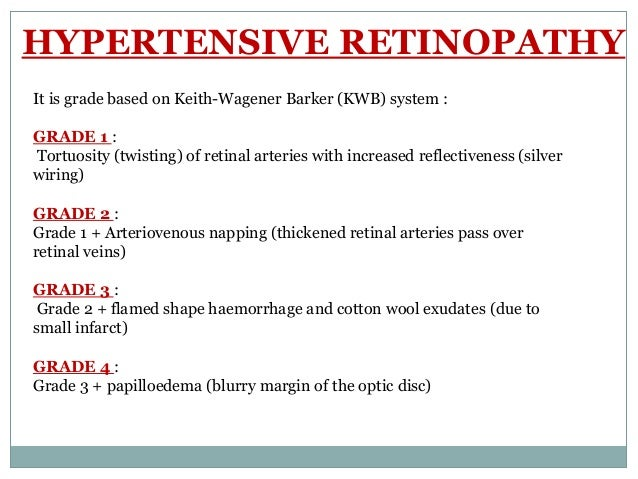 5.  sc 1 st  SlideShare : hypertensive retinopathy silver wiring - yogabreezes.com