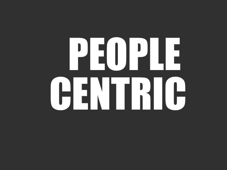 PEOPLECENTRIC