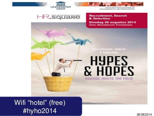 "Eva Derous – PP09 26/08/2014 Wifi ""hotel"" (free) #hyho2014"