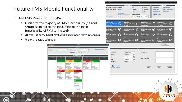 Supply Chain Solutions Mobile Products - 2017 Hyphen Conference