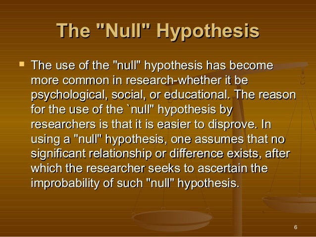 what is a hyphothesis A hypothesis is a tentative statement about the relationship between two or more variables it is a specific, testable prediction about what you expect to happen in a study for example, a study designed to look at the relationship between sleep deprivation and test performance might have a hypothesis that.