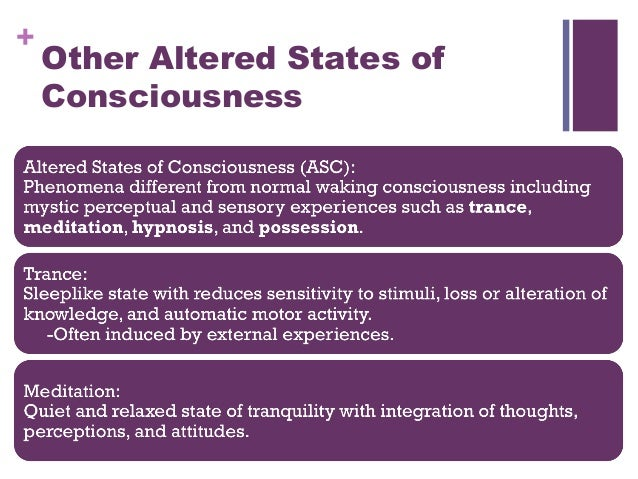 Hypnosis as altered state of consciousness psychology essay