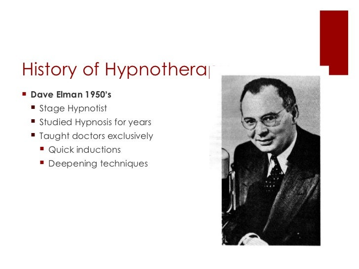History of Hypnosis Essay Sample