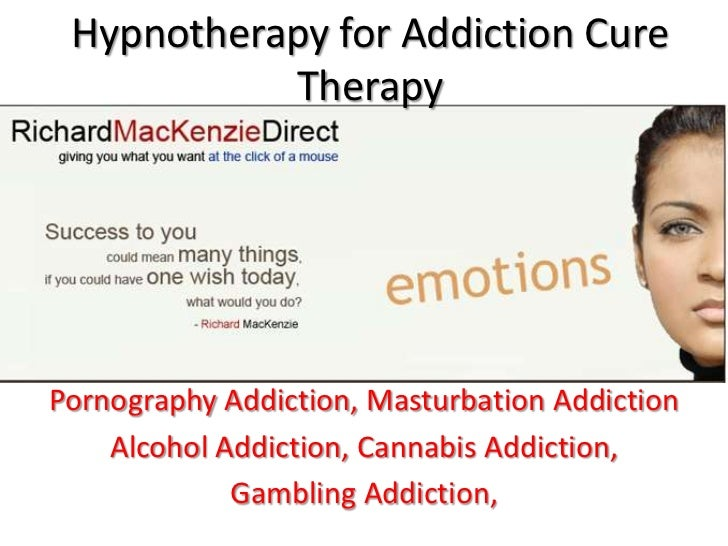 Hypnosis to cure sex addiction