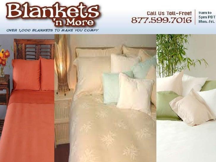 Hypo allergenic bamboo blankets