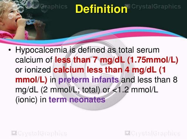 Hypocalcemia 31260127