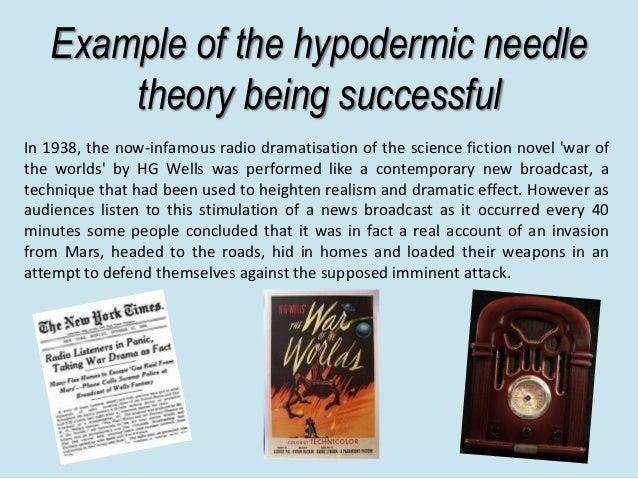 hypodermic needle theory essays