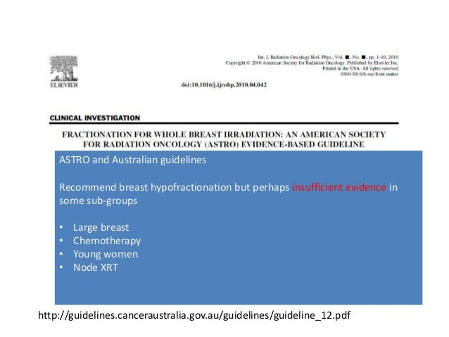 breast cancer follow up guidelines australia