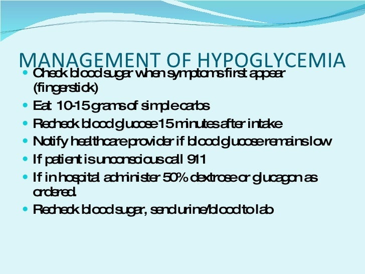 Hypoglycemia Hyperglycemia In The Pregnant Patient