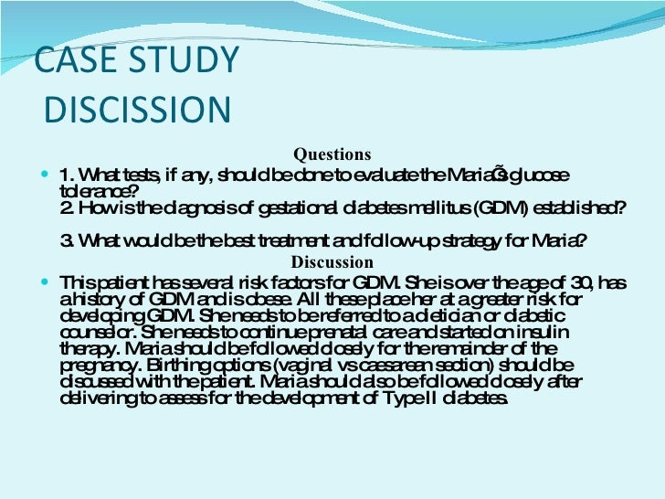 Gestational Diabetes Essays (Examples)
