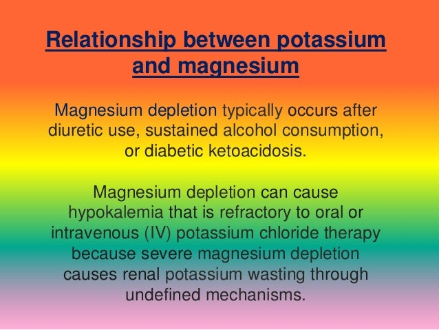 relationship between hypokalemia and hyperglycemia