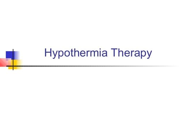 Hypothermia Therapy