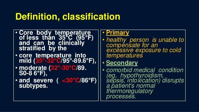 Hypothermia Slide 2